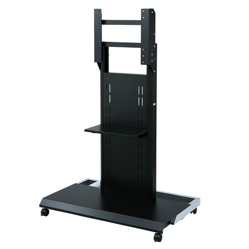 【期間限定価格】壁寄せテレビスタンド(キャスター付き・大型対応・60型/65型/70型/75型/80型/84型対応)