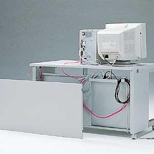 【クリックでお店のこの商品のページへ】eデスク用ケーブル収納パネル(SタイプW1100用) EP-110