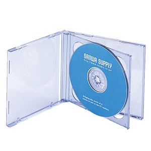 【クリックでお店のこの商品のページへ】DVD・CDプラケース(2枚収納・ブルー・5枚セット) FCD-22BL