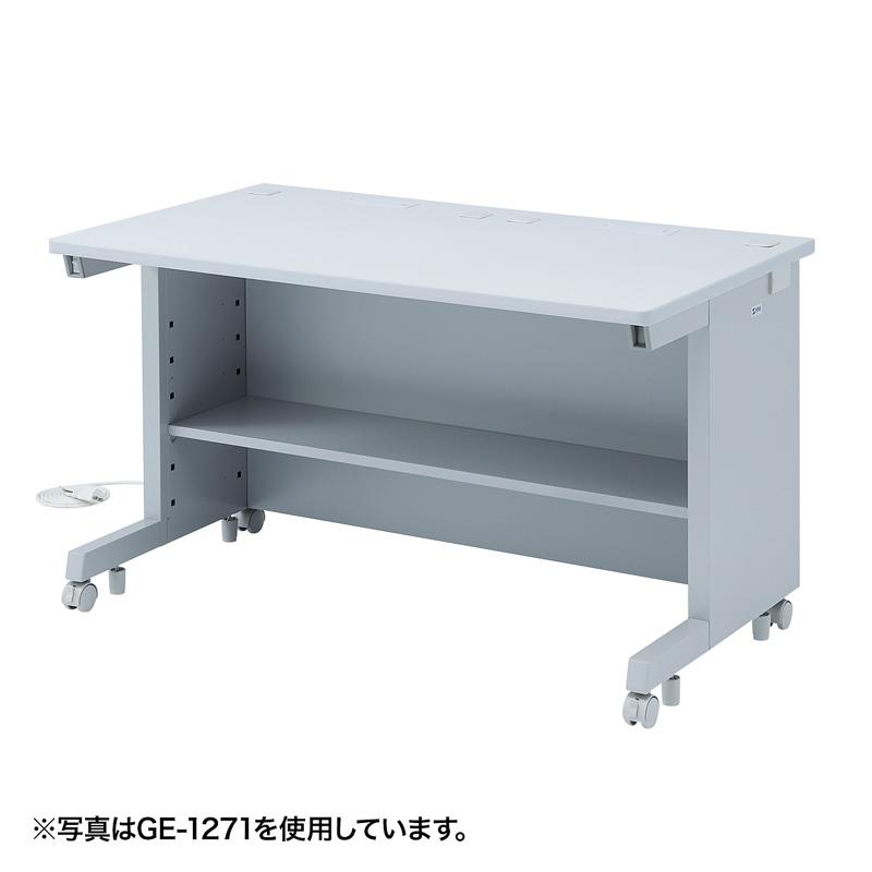 オフィスデスク GEデスク(W1000×D800mm) サンワダイレクト サンワサプライ GE-1081