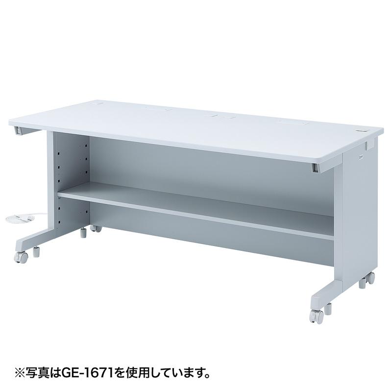 オフィスデスク GEデスク(W1400×D700mm) サンワダイレクト サンワサプライ GE-1471