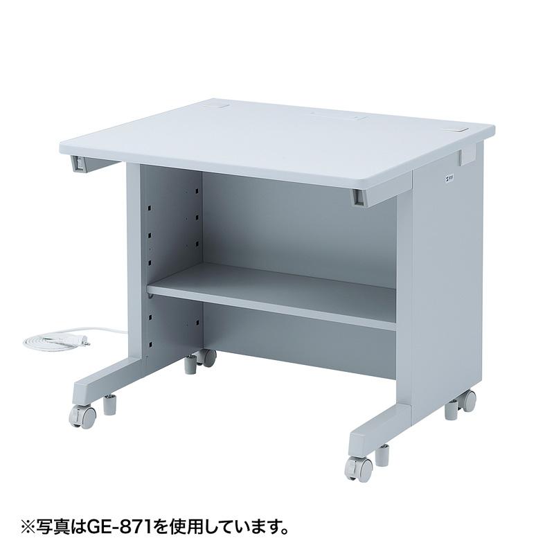オフィスデスク GEデスク(W800×D800mm) サンワダイレクト サンワサプライ GE-881