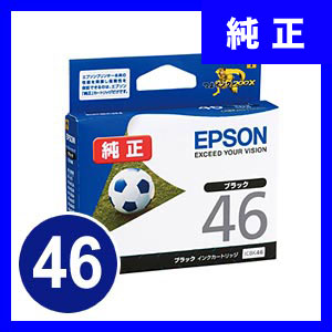ICBK46 エプソン インクカートリッジ ブラック サッカーボール サンワダイレクト サンワサプライ ICBK46