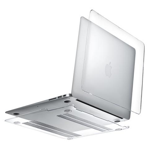 MacBook Airハードシェルカバー(13インチ用・薄型・クリア)