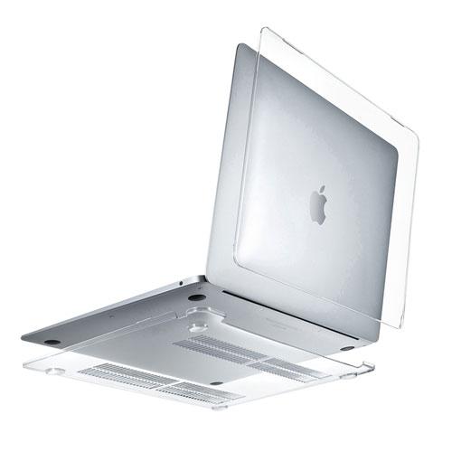 MacBook Air13インチ用シェルカバー(2018・A1932・ハードケース・ポリカーボネート・クリア)