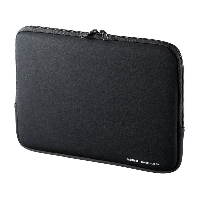 MacBook Pro 13インチ専用インナーケース(ブラック) サンワダイレクト サンワサプライ IN-MACPR1301BK