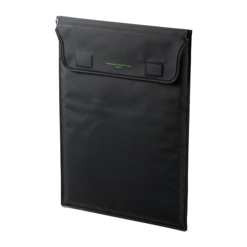 PCインナーケース(防水・IPX6・13.3インチ・シームレス加工・ブラック)