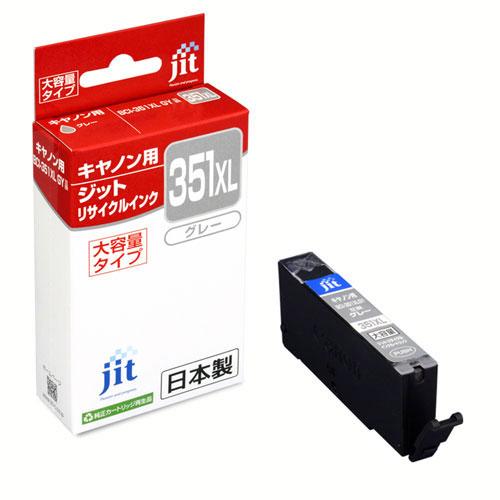 """【クリックでお店のこの商品のページへ】<a href=""""/disp/CSDSaleListPage.jsp?dispNo=007001114"""">【リサイクルインクセール】キャノン リサイクルインクカートリッジ BCI-351XLGY対応 グレー(大容量)</a> JIT-C351GYXL"""