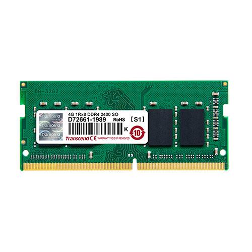 Transcend ノートPC用メモリ 4GB DDR4-2400 PC4-19200 SO-DIMM JM2400HSH-4G
