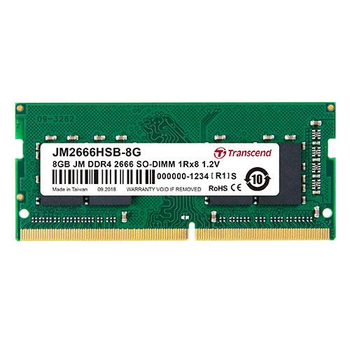Transcend ノートPC用メモリ 8GB DDR4-2666 PC4-21300 SO-DIMM JM2666HSB-8G