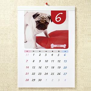 手作りカレンダーキット(壁掛・A3縦長・マット)
