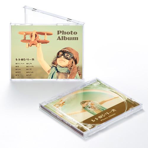 インクジェットCDケースボトム用カード(つやなしマット)