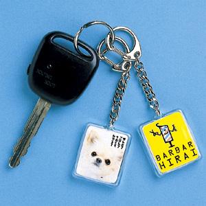 【クリックでお店のこの商品のページへ】手作りキーホルダーキット(長方形・大) JP-ST08