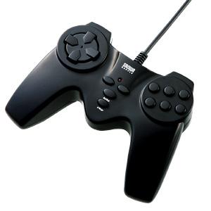 USBゲームパッド(ブラック) JY-P68UBK