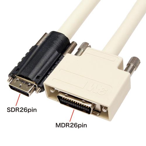 カメラリンクケーブル(SDR26pinオス-MDR26pinオス・2m)