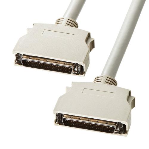 SCSIケーブル(ピンタイプハーフ50pinのSCSI機器同士を接続/0.6m)