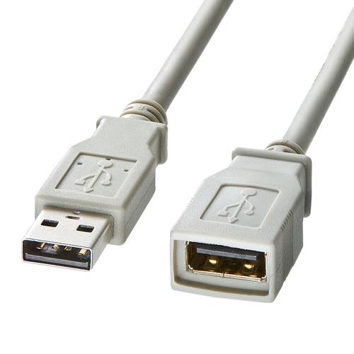 USB2.0延長ケーブル(1m)
