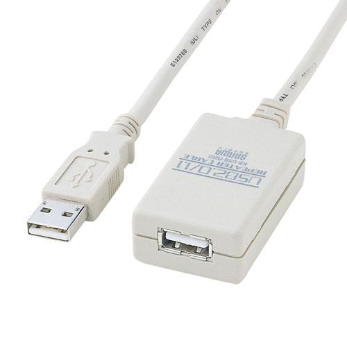【期間限定価格】USB2.0延長ケーブル(5m・リピーターケーブル・アクティブタイプ)