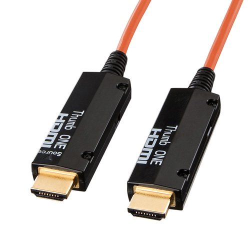 HDMIケーブル(光ファイバ・100m)