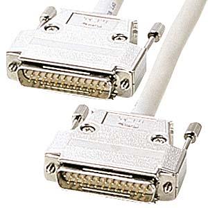 【クリックでお店のこの商品のページへ】RS-232Cケーブル(25pin/モデム・切替器・10m) KRS-005