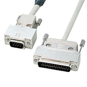 【クリックでお店のこの商品のページへ】RS-232Cケーブル(モデム・TA・周辺機器・2m) KRS-3102