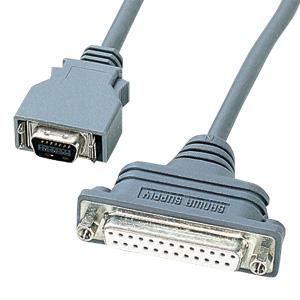 RS-232CケーブルNEC PC9821ノート対応(周辺機器変換用・0.2m)