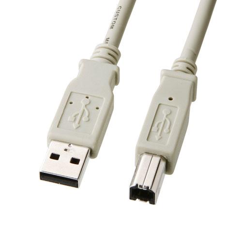 USBケーブル(5m・ライトグレー)