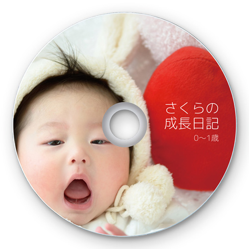 インクジェットフォト光沢DVD・CDラベル(内径24mm・フォト光沢・20シート)