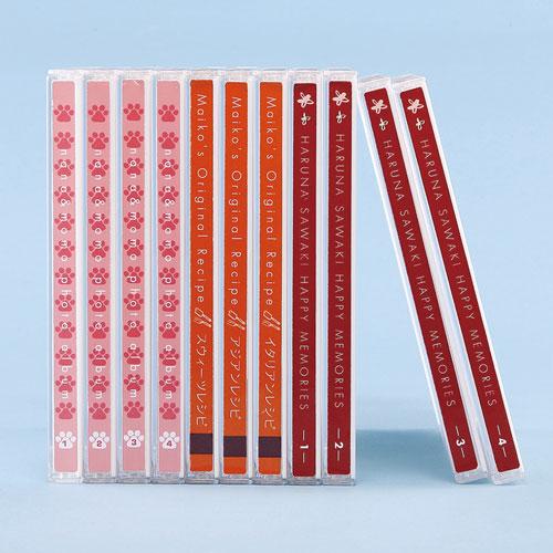 DVD・CDプラケース用背ラベル