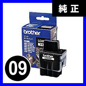 【クリックでお店のこの商品のページへ】ブラザー インクカートリッジ LC09BK LC09BK