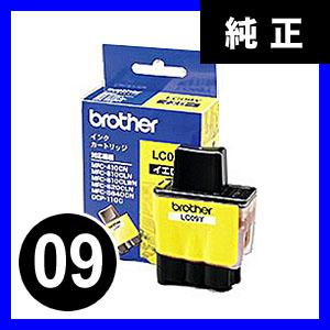 【クリックで詳細表示】ブラザー インクカートリッジ LC09Y【返品不可】 LC09Y