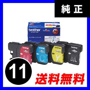 【クリックでお店のこの商品のページへ】ブラザー インクカートリッジ LC11-4PK LC114PK