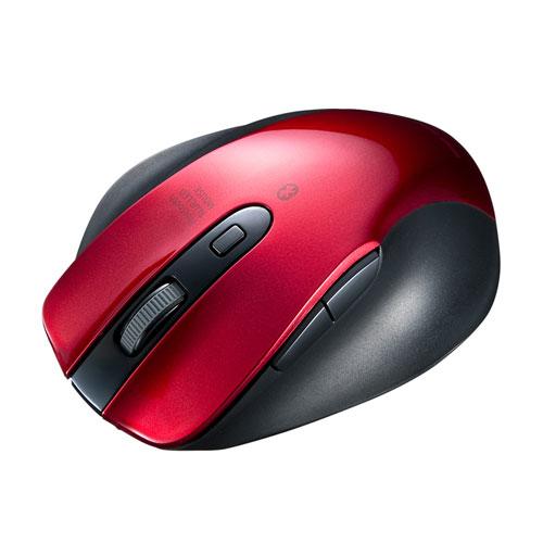 Bluetoothマウス(ブルーLED・レッド)