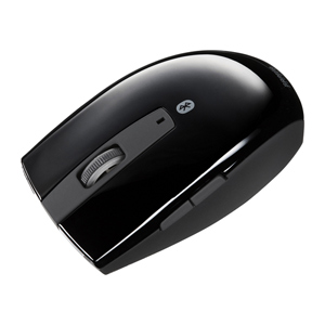 サンワダイレクトワイヤレスマウス(Bluetooth・ブルーLED・ブラック)