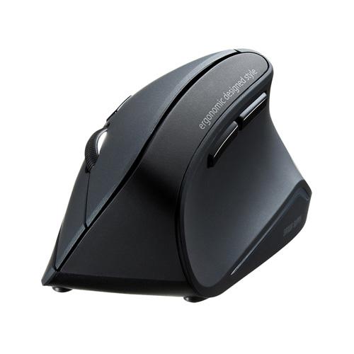 【期間限定価格】エルゴノミクスマウス(Bluetooth・腱鞘炎防止・ブルーLED・6ボタン)