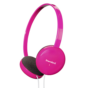 サンワダイレクト【わけあり在庫処分】 ヘッドホン(iPod・iPhone5・ウォークマンにおすすめ・ピンク)