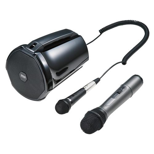 ワイヤレスマイク付き拡声器スピーカー(授業・飛散・飛沫)