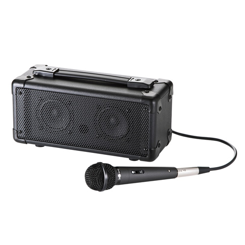 【期間限定価格】マイク付き拡声器スピーカー(Bluetooth対応)
