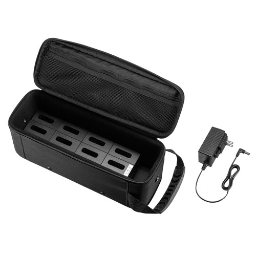 ワイヤレスガイドシステム用充電器(MM-WGS1T/R対応・12台充電・ケース付き)