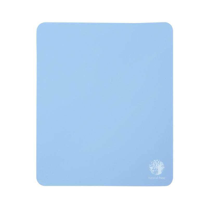 ベーシックマウスパッドnatural base(ブルー) サンワダイレクト サンワサプライ MPD-OP54BL