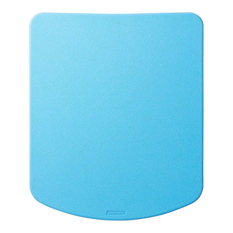 シリコンマウスパッド(ブルー) サンワダイレクト サンワサプライ MPD-OP56BL