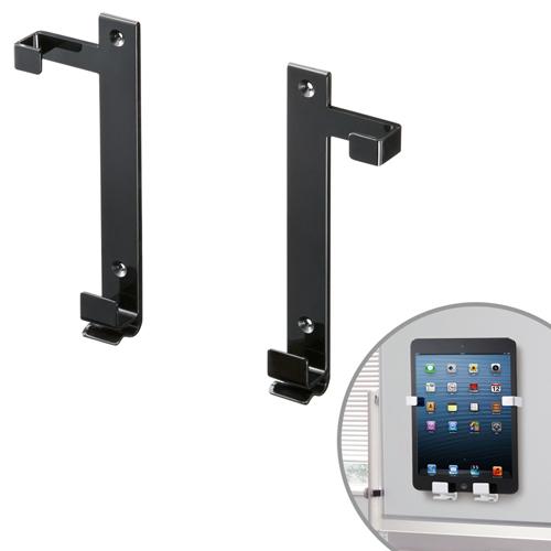 iPadマウント(7〜11インチ・厚さ13mmまで・ブラック)