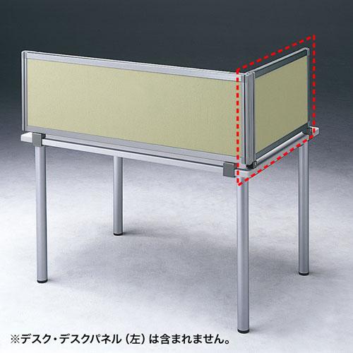 パーティション・デスクパネルシリーズ(H400×W665サイドA・ベージュ)(受注生産)