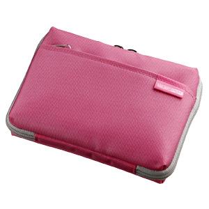 【在庫処分】 電子辞書ケース(カジュアルタイプ・ピンク) PDA-EDC23P