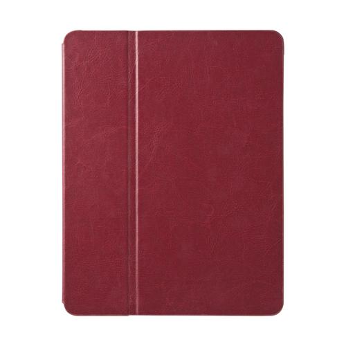 【クリックで詳細表示】iPad専用ソフトレザーケース(第4世代・第3世代・iPad 2対応・レッド) PDA-IPAD39R
