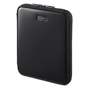 【クリックで詳細表示】【わけあり在庫処分】iPad・iPad2ハードインナーケース(スタンド機能・ブラック) PDA-IPAD6BK