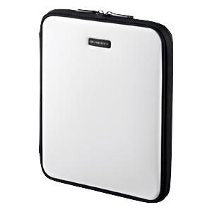 【クリックで詳細表示】【わけあり在庫処分】iPad・iPad2ハードインナーケース(スタンド機能・ホワイト) PDA-IPAD6W