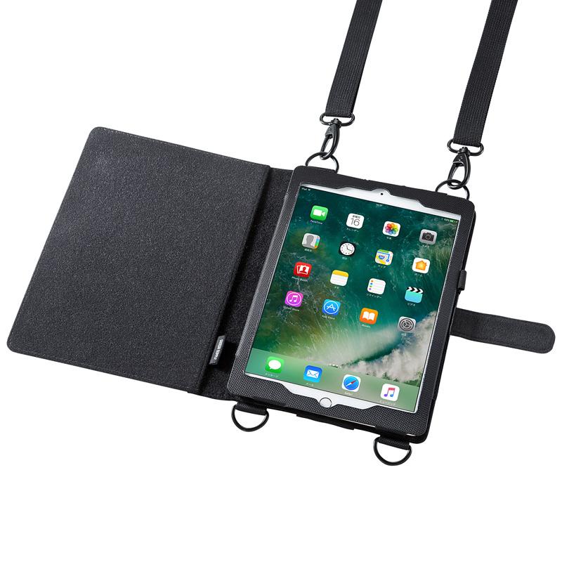 ショルダーベルトケース (iPad Pro9.7 / iPad Air2対応) サンワダイレクト サンワサプライ PDA-IPAD911