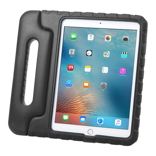 【わけあり在庫処分】9.7インチiPad Pro/iPad Air 2ケース(衝撃吸収・ブラック)