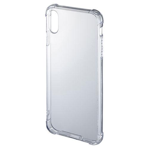 f98fdc59ae iPhone XS Max 耐衝撃ケース PDA-IPH024CLの販売商品 |通販ならサンワ ...